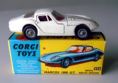 Corgi Toys - Scale 1/43 - Marcos 1800 GT with Volvo Engine, No.324