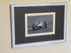 Jonathan Williams (RIP) - Ferrari Formula 1 driver - hand signed framed photo + COA