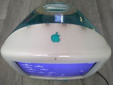 "Apple iMac G3/400 DV - Blueberry - model M5521, mid 2000 - 400 Mhz G3, 128MB RAM, 10GB HDD, 15"", DVD drive, MacOS 9"