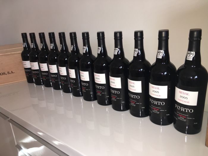 "2005 Vintage Port - Quinta do Noval ""Silval"" - 12 bottles (0.75l) in OWC"