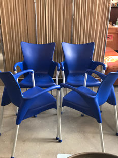 Eurolinea for Gaber – 4 'Lady' chairs