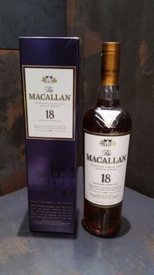 Macallan 18 Year Old Sherry 1995 Release