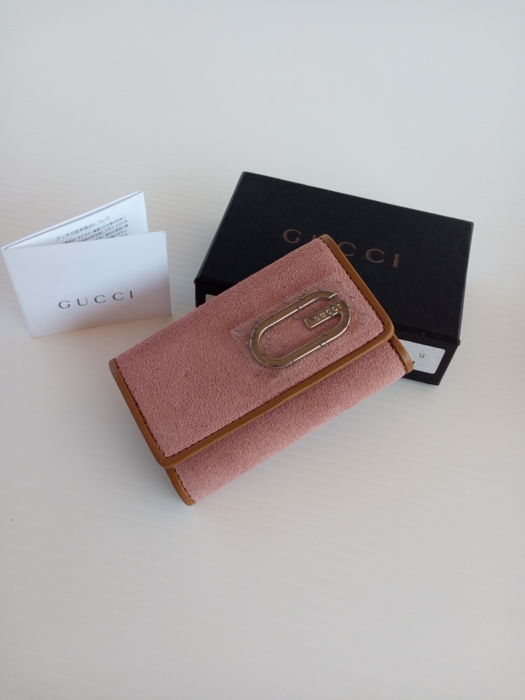Gucci Keyring and Balenciaga Wallet