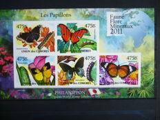 Butterflies – Topical collection in two stock books