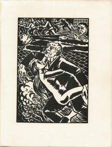 Romain Rolland - Jean-Christophe. Illustrated by Frans Masereel - 5 volumes - 1925/1927