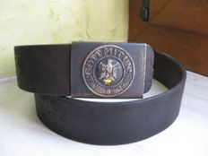 Belt and buckle WH - WW2