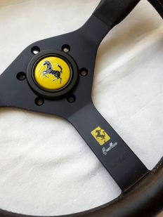 Original Ferrari Prancing horse steering wheel year 1979