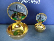 Swarovski - 2x Pill-Box Holland.