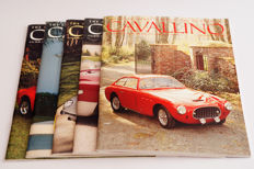 Lot of 5 Cavallino Magazines