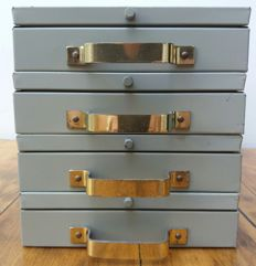 LIPS - Decorative Dutch Bank Safes / Deposit Boxes