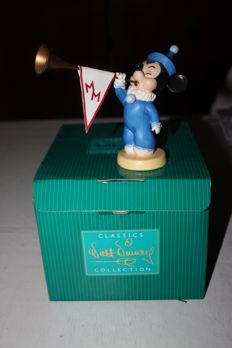 """Disney, Walt - Statuette WDCC - Mickey's Nephews - """"Sound The Trumpets"""" - Mickey Mouse Club (2005)"""
