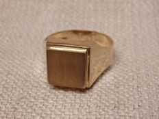 14K yellow 585 mens ring - size 20,5mm ***No Reserve***
