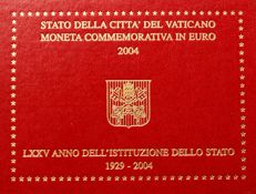 Vatican – 2 Euro – 2004 – 75 years of Vatican City in Blister Packaging