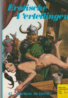 Cult; Lot with 22 issues of Erotische vertellingen-1979/1980