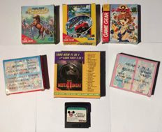 Sega Game Gear Games From Japan