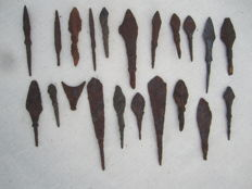 Medieval spearheads- 30/97 mm (21)