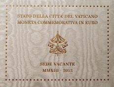 Vatican – 2 Euro – 2013 – Sede Vacante in Blister Packaging