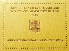 Vatican – 2 Euro – 2009 – International Year of Astronomy in Blister Packaging