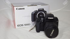 Canon EOS 1000D + EF-S 18-55 DC III 10MP