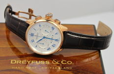 Dreyfuss and Co Mens 1925 - Chronograph Swiss Automatic Watch - New & Mint Condition
