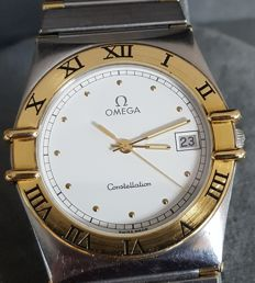 Omega Constellation 18K gold and Steel - Mens Watch