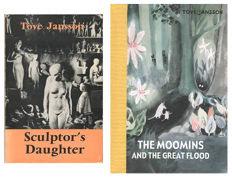Tove Jansson - Sculptor's Daughter & The Moomins and the Great Flood - 2 volumes - 1969/2012
