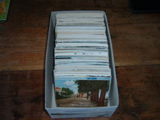 The Netherlands, a box full of topography postcards period: 1900-1960, 440 x