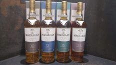 Macallan 10/12/15/17 Year Old Fine Oak Combo Set of 4 bottles