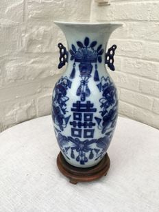 Decorative vase – China – first half of the 20th century.