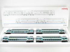 "Märklin H0 - 43580 - four-piece set ""Double-decker carriages"" of the DB"