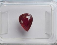 Ruby - 1.56 ct - No Reserve Price
