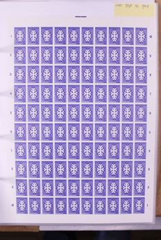 The Netherlands 1968/1971 – collection of mostly complete sheets in stock sleeves.