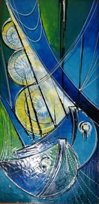 Unknown artist - abstract painting