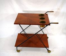 Unknown designer – Folding drinks trolley