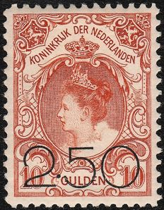 The Netherlands 1920 - Clearance issue - NVPH 104