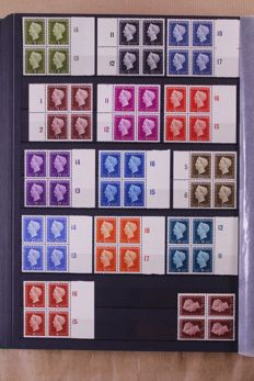 The Netherlands 1940/1962 – Collection of blocks of 4 in a Leuchtturm stochbook