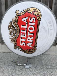 Beautiful large Stella Artois light box