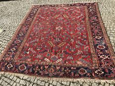 Unique Heriz Rug 270x220cm -hand knotted