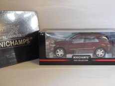 Minichamps - Scale 1/18 - Mercedes-Benz M-Class 2005 & Photo book '20 Years Minichamps - Pure Passion'