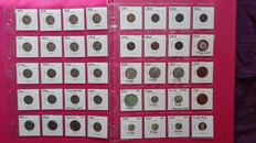 United States - Lot of 40 coins 1883/1958 (incuding 10 silver)