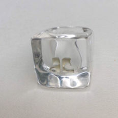 Courrèges ring - size 55.5 approx.