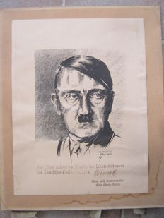 Third Reich Decorative Certificate