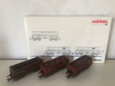 "Märklin H0 48444 -  3-Piece set of ore transport ""Gustave Boël""  of the SNCB/NMBS"