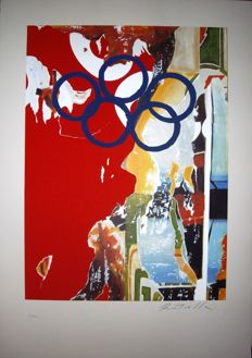 Mimmo Rotella - Olympic Centennial 1992