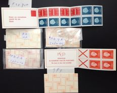 The Netherlands 1983/1992 – Batch of 170 stamp booklets, including booklets with counting square, among other things