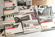 Inside race cards of the Lucky Strike BAR Honda Formula 1 team
