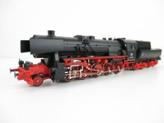 Märklin H0 - 3415 - Steam locomotive with bucket tender BR 52 of the DB