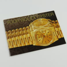 Rolex Your Rolex Oyster English Booklet From 1994