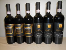 3x 2006 Colpetrone Gold, Montefalco Sagrantino DOCG & 3x 2005 Fattoria Colsanto Sagrantino di Montefalco DOCG - 6 bottles (75cl)