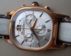 BORSALINO chronograph – Men's wristwatch – From the 2010s – N.O.S. – Never worn.